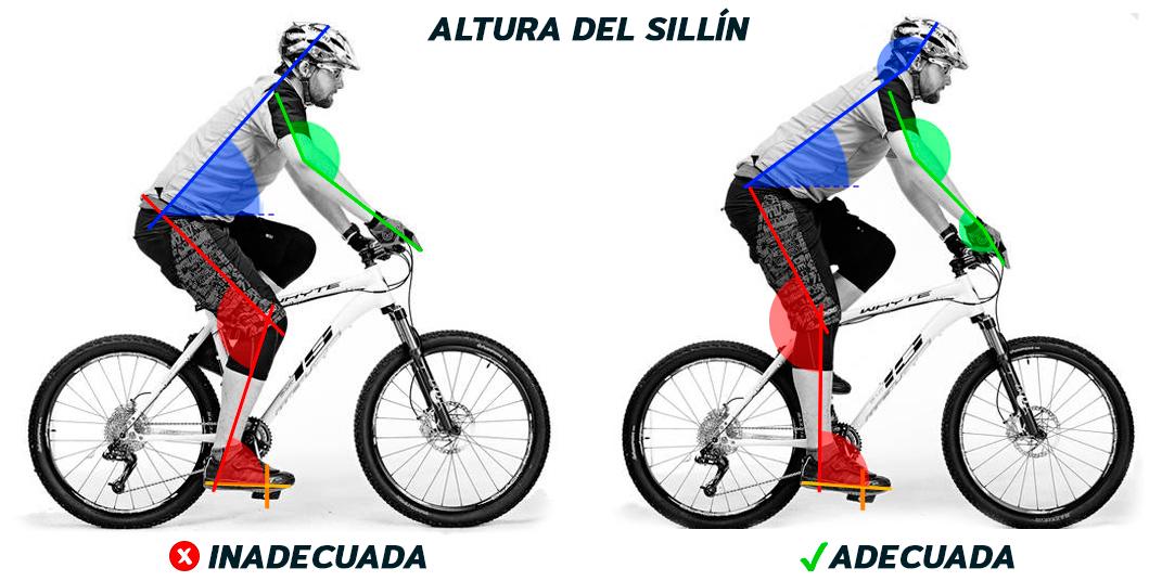 Una adecuada posición del sillín nos evitará molestos dolores que harán que nuestro rendimiento sobre la bici disminuya.