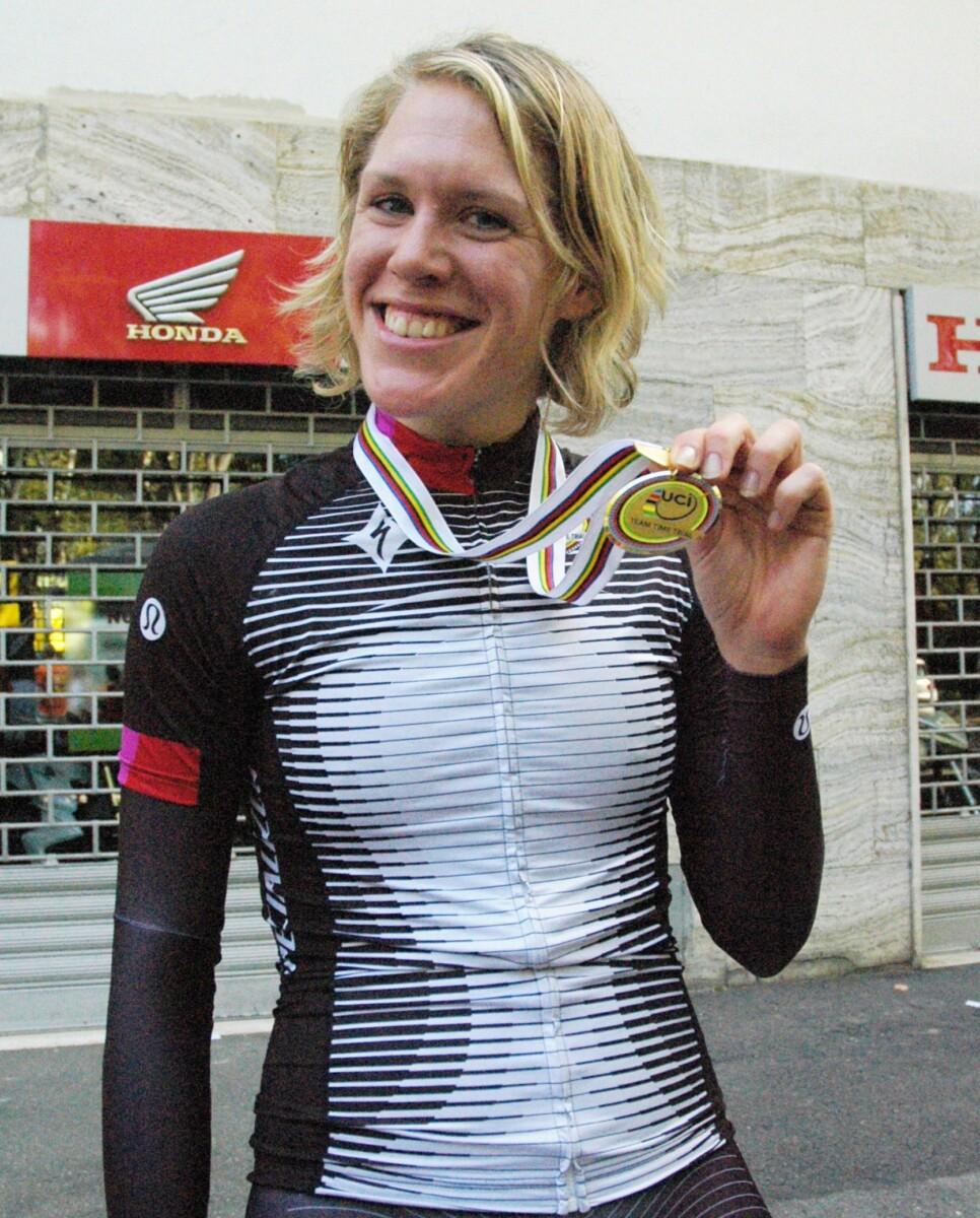Ellen van Dijk ciclismo femenino