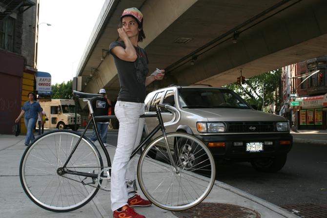 Reconocer a un ladrón de bicicletas