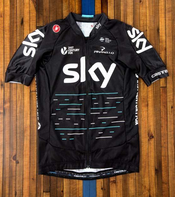 Castelli y Team Sky