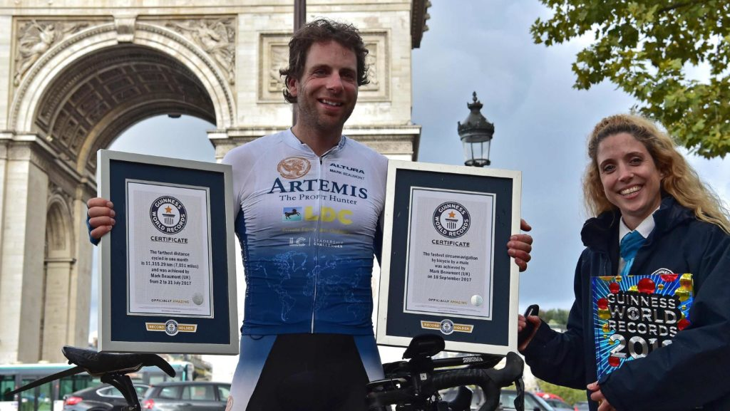 mark beaumont vuelta al mundo en 80 dias